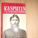 Libros de segunda mano: RASPUTIN Y EL OCASO DE UN IMPERIO - MICHAEL PRAWDIN. Lote 164250942