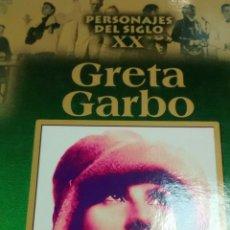 Libros de segunda mano: PERSONAJES DEL SIGLO XX. GRETA GARBO (RUEDA). Lote 164571150