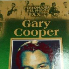 Libros de segunda mano: PERSONAJES DEL SIGLO XX. GARY COOPER (RUEDA). Lote 164571238