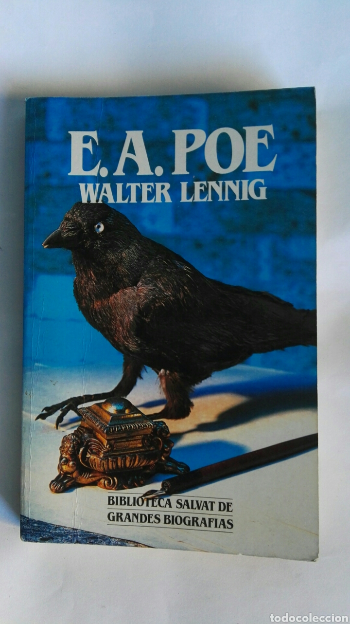 E.A. POE WALTER LENNIG GRANDES BIOGRAFÍAS (Libros de Segunda Mano - Biografías)