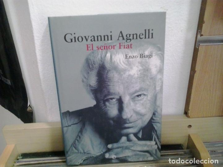 LMV - GIOVANNI AGNELLI, EL SEÑOR FIAT. ENZO BIAGI. LA ESFERA DE LOS LIBROS. 2004 (Libros de Segunda Mano - Biografías)