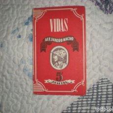 Libros de segunda mano: ALEJANDRO MAGNO;S.MONTERO DÍAZ;ATLAS 1944. Lote 166320378