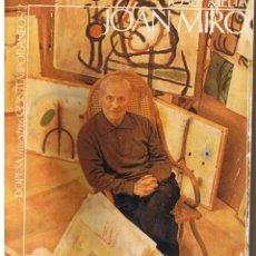 Libros de segunda mano: NUESTROS CONTEMPORÁNEOS 2. JOAN MIRÓ (JOSEP MELIA) DOPESA, 1971 DOPESA, BARCELONA, 1971.. Lote 166692486