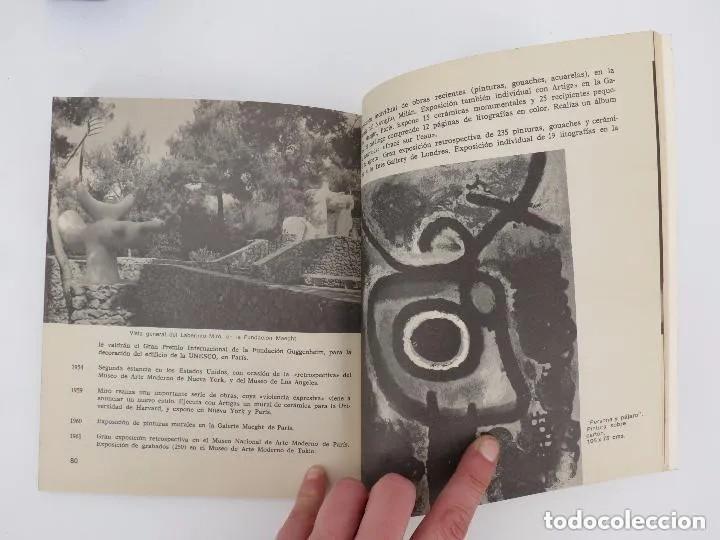 Libros de segunda mano: NUESTROS CONTEMPORÁNEOS 2. JOAN MIRÓ (Josep Melia) Dopesa, 1971 Dopesa, Barcelona, 1971. - Foto 3 - 166692486
