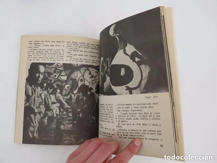 Libros de segunda mano: NUESTROS CONTEMPORÁNEOS 2. JOAN MIRÓ (Josep Melia) Dopesa, 1971 Dopesa, Barcelona, 1971. - Foto 4 - 166692486