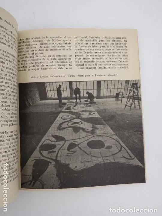 Libros de segunda mano: NUESTROS CONTEMPORÁNEOS 2. JOAN MIRÓ (Josep Melia) Dopesa, 1971 Dopesa, Barcelona, 1971. - Foto 5 - 166692486