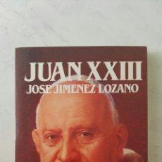 Libros de segunda mano: JUAN XXIII BIOGRAFÍA. Lote 167076714
