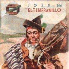 Libros de segunda mano: J. CABALLERO : JOSÉ MARÍA EL TEMPRANILLO (AMELLER, C. 1950). Lote 167085176