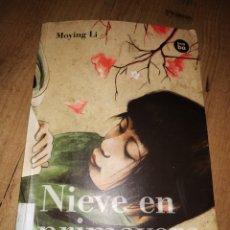 Libros de segunda mano: NIEVE EN PRIMAVERA MOYING LI. Lote 167423753