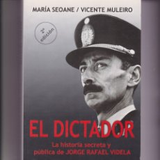 Libros de segunda mano: EL DICTADOR. LA HISTORIA SECRETA Y PÚBLICA DE JORGE RAFAEL VIDELA. Y UN LIBRO SORPRESA DE REGALO. Lote 167593228