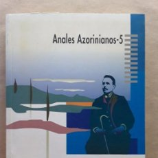Libros de segunda mano: ANALES AZORINIANOS 5,JOSÉ PAYA BERNABÉ,CAJA DE AHORROS DEL MEDITERRANEO. Lote 167618464