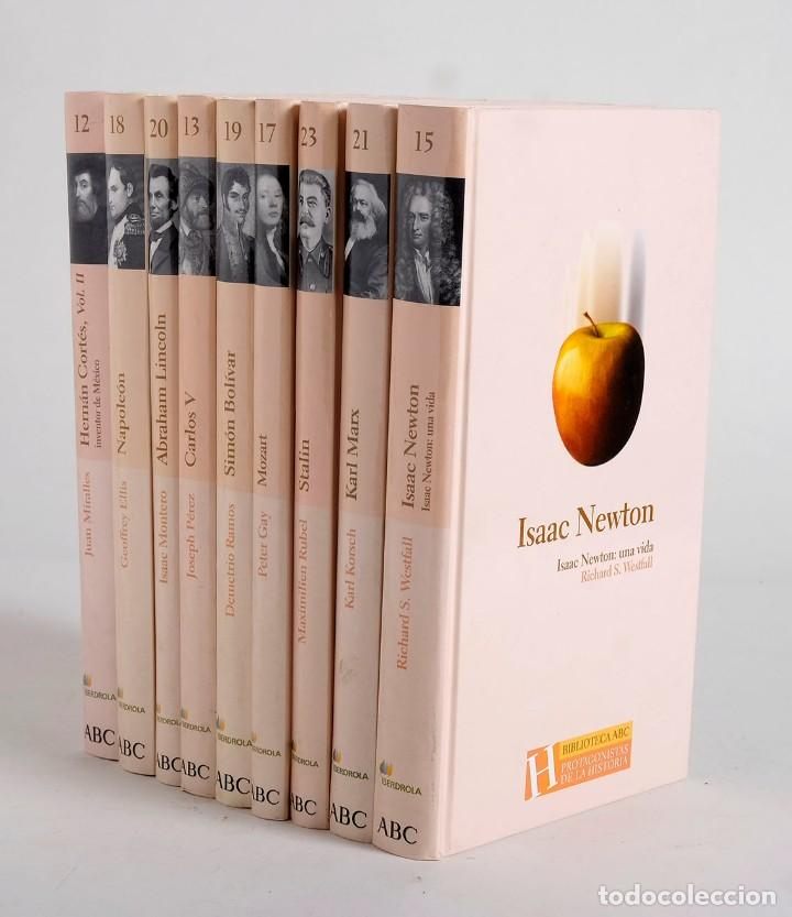 Libros de segunda mano: 9 libros de la Biblioteca ABC. Protagonistas de la Historia. 2004 - Foto 2 - 168236696