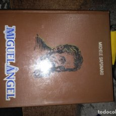 Libros de segunda mano: MIGUEL ÁNGEL. MICHELANGELO. - MICHELE SAPONARO. 1963. . Lote 168269672