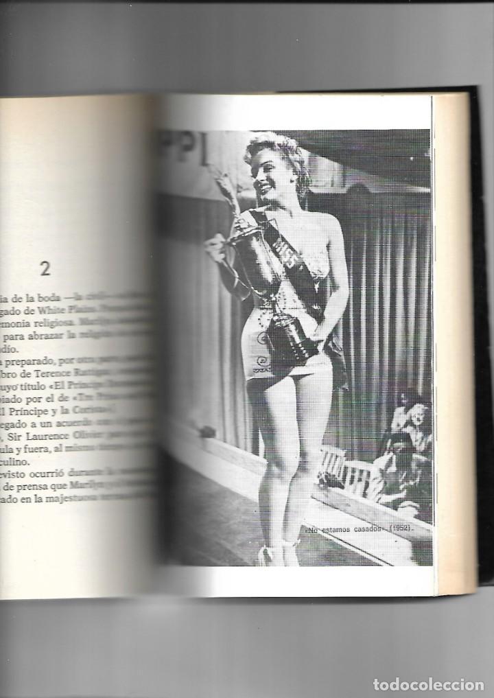 Libros de segunda mano: Marilyn Monroe, su vida, sus amores y su muerte contiene 250 páginas de Richard S. Moore. - Foto 3 - 168420540