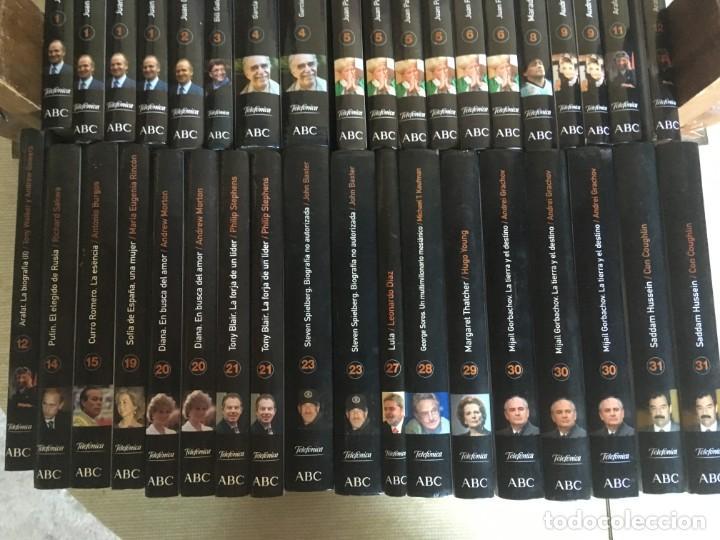 Libros de segunda mano: LOTE MÁS DE 50 BIOGRAFÍAS DIARIO ABC - NO SE DESHACE EL LOTE - REPETIDOS - Foto 4 - 168612972