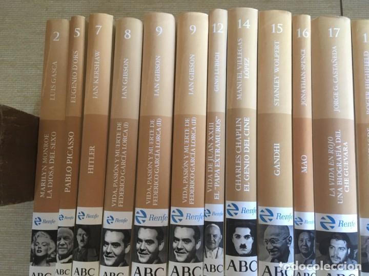 Libros de segunda mano: LOTE MÁS DE 50 BIOGRAFÍAS DIARIO ABC - NO SE DESHACE EL LOTE - REPETIDOS - Foto 5 - 168612972