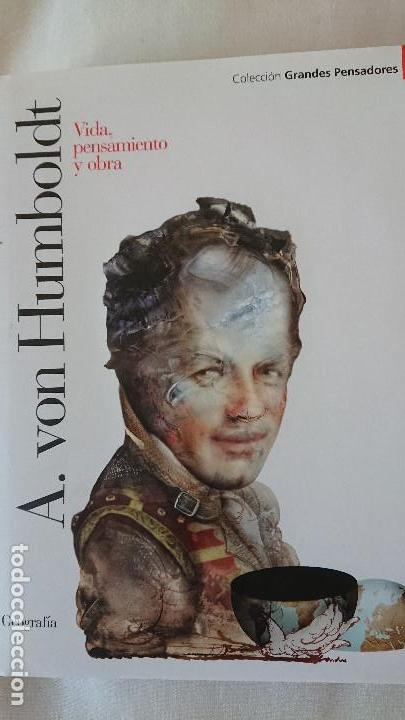 A VON HUMBOLDT. VIDA PENSAMIENTO Y OBRA - COLECCIÓN GRANDES PENSADOES. OBRA SELECTA. TOMO 26 (Libros de Segunda Mano - Biografías)