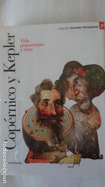COPÉRNICO Y KEPLER. VIDA PENSAMIENTO Y OBRA - COLECCIÓN GRANDES PENSADOES. OBRA SELECTA. TOMO 31 (Libros de Segunda Mano - Biografías)