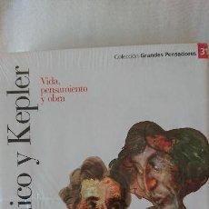 Libros de segunda mano: COPÉRNICO Y KEPLER. VIDA PENSAMIENTO Y OBRA - COLECCIÓN GRANDES PENSADOES. OBRA SELECTA. TOMO 31. Lote 168902668