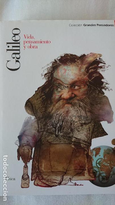 GALILEO. VIDA PENSAMIENTO Y OBRA - COLECCIÓN GRANDES PENSADOES. OBRA SELECTA. TOMO 27 (Libros de Segunda Mano - Biografías)