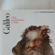Libros de segunda mano: GALILEO. VIDA PENSAMIENTO Y OBRA - COLECCIÓN GRANDES PENSADOES. OBRA SELECTA. TOMO 27. Lote 168904696