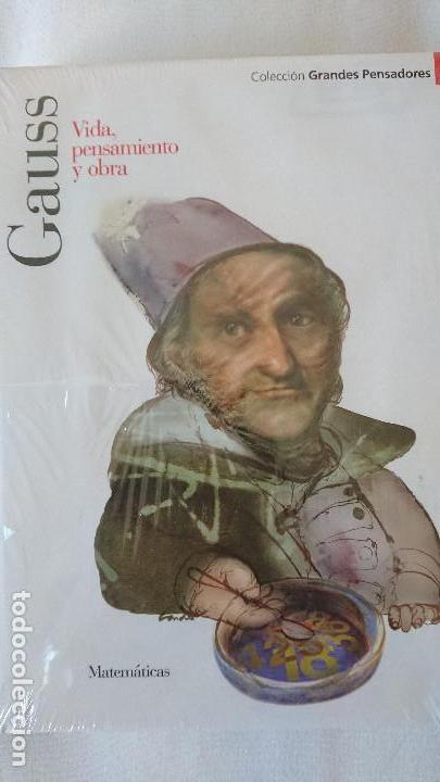 GAUSS. VIDA PENSAMIENTO Y OBRA - COLECCIÓN GRANDES PENSADOES. OBRA SELECTA. TOMO 30 (Libros de Segunda Mano - Biografías)