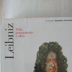 Libros de segunda mano: LEIBNIZ. VIDA PENSAMIENTO Y OBRA - COLECCIÓN GRANDES PENSADOES. OBRA SELECTA. TOMO 32. Lote 168906556