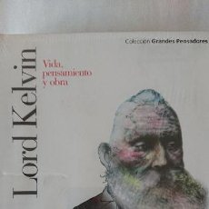 Libros de segunda mano: LORD KELVIN. VIDA PENSAMIENTO Y OBRA - COLECCIÓN GRANDES PENSADOES. OBRA SELECTA. TOMO 34. Lote 168907152