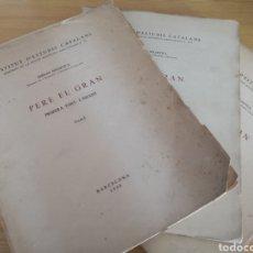 Libros de segunda mano: PERE EL GRAN PRIMERA PART L, INFANT FERRAN SOLDEVILA. Lote 168987236
