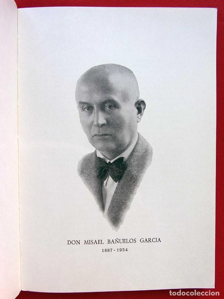 Libros de segunda mano: BIOGRAFÍA DE DON MISAEL BAÑUELOS. BURGOS. AÑO: 1983. BUEN ESTADO. IGNACIO LÓPEZ SÁÍZ. - Foto 2 - 169049848