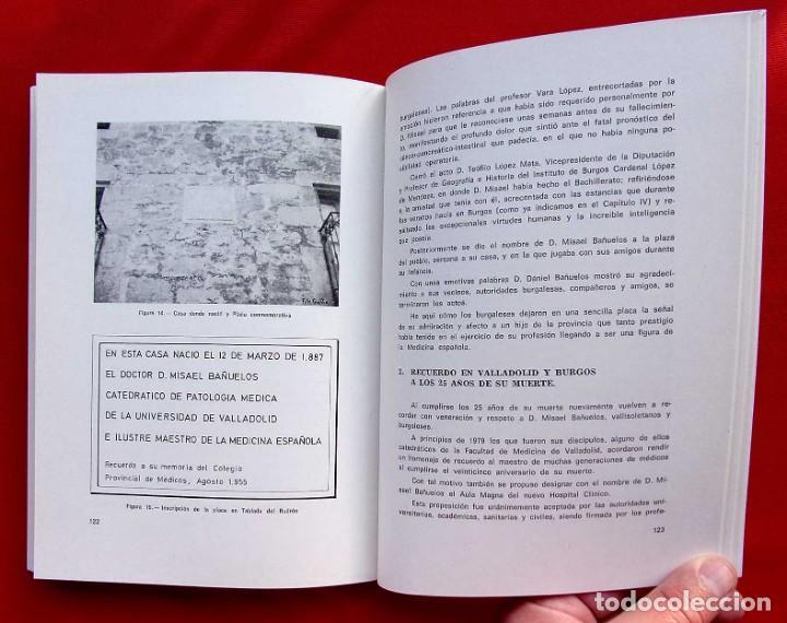 Libros de segunda mano: BIOGRAFÍA DE DON MISAEL BAÑUELOS. BURGOS. AÑO: 1983. BUEN ESTADO. IGNACIO LÓPEZ SÁÍZ. - Foto 8 - 169049848