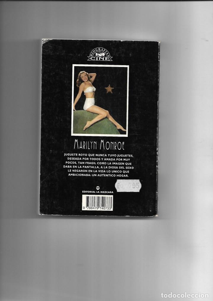 Libros de segunda mano: Marilyn Monroe, la diosa del sexo, Biografias de Cine, Luis Gasca. año 1994. contiene 256 páginas. - Foto 5 - 169324176