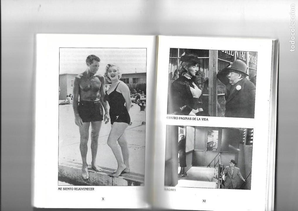 Libros de segunda mano: Marilyn Monroe, la diosa del sexo, Biografias de Cine, Luis Gasca. año 1994. contiene 256 páginas. - Foto 4 - 169324176