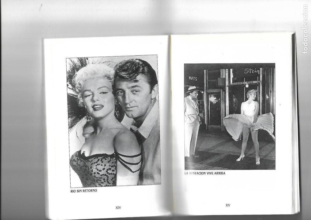 Libros de segunda mano: Marilyn Monroe, la diosa del sexo, Biografias de Cine, Luis Gasca. año 1994. contiene 256 páginas. - Foto 2 - 169324176