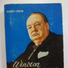 Livros em segunda mão: WINSTON CHURCHILL. DARÍO CREUS. ENCICLOPEDIA PULGA Nº 210.. Lote 169402604