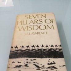 Libros de segunda mano: SEVEN PILLARS OF WISDOM. T. E. LAWRENCE. 1973. LAWRENCE DE ARABIA. 1A G. MUNDIAL EN MEDIO ORIENTE.. Lote 169424044