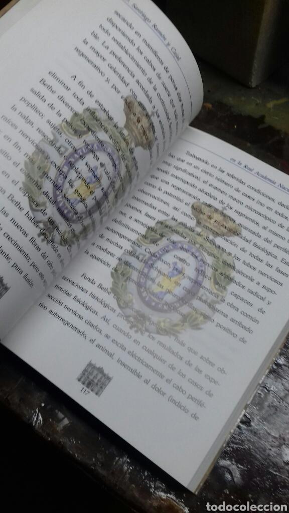 Libros de segunda mano: Santiago Ramon y Cajal en la real Academia nacional de Medicina. - Foto 2 - 169687064