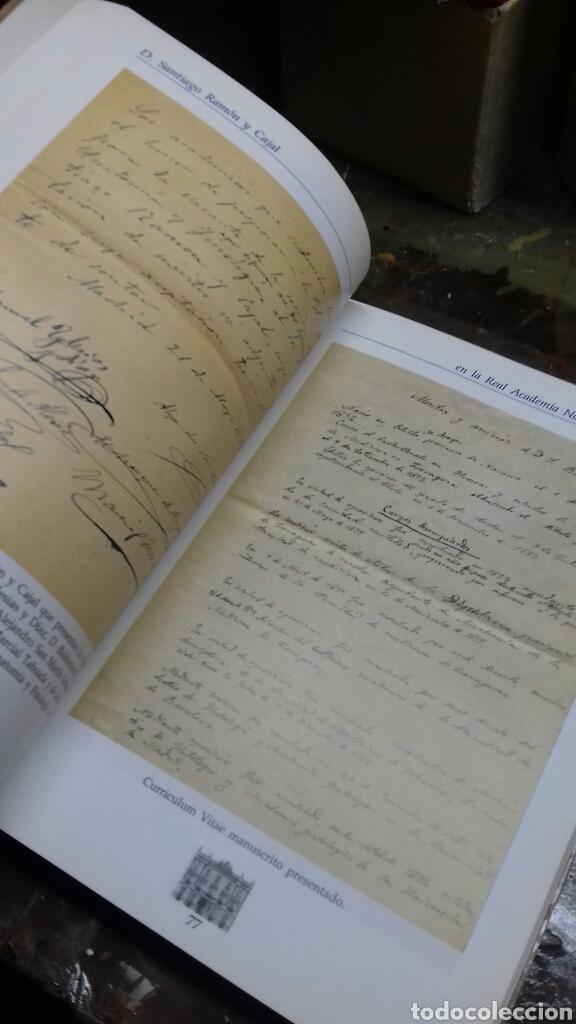 Libros de segunda mano: Santiago Ramon y Cajal en la real Academia nacional de Medicina. - Foto 3 - 169687064