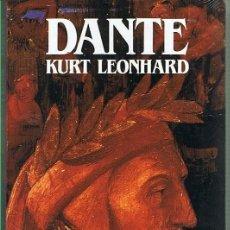 Libros de segunda mano: DANTE. KURT LEONHARD. EDITORIAL SALVAT. LIBRO NUEVO. Lote 169718756