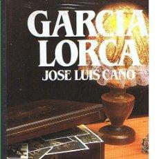 Libros de segunda mano: GARCÍA LORCA. JOSÉ LUIS CANO. EDITORIAL SALVAT. LIBRO NUEVO. Lote 169718852