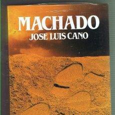 Libros de segunda mano: MACHADO. JOSÉ LUIS CANO. EDITORIAL SALVAT. LIBRO NUEVO. Lote 169719036