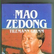Libros de segunda mano: MAO ZEDONG. TIELMANN GRIMM. EDITORIAL SALVAT. LIBRO NUEVO. Lote 169726740