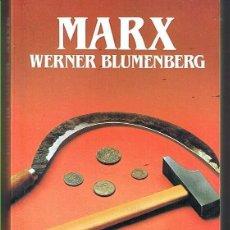 Libros de segunda mano: MARX. WERNER BLUMENBERG. EDITORIAL SALVAT. LIBRO NUEVO. Lote 169726832