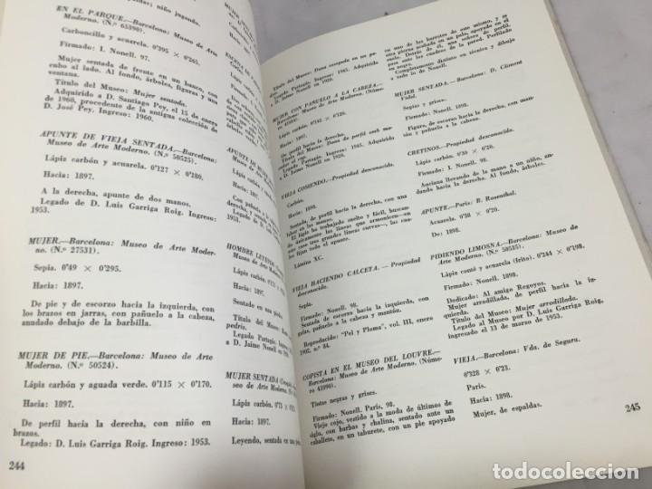 Libros de segunda mano: Isidro Nonell su vida y su Obra por Carolina Nonell editorial Dossat Madrid 1963 rústica original - Foto 4 - 169776964