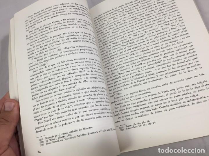 Libros de segunda mano: Isidro Nonell su vida y su Obra por Carolina Nonell editorial Dossat Madrid 1963 rústica original - Foto 11 - 169776964