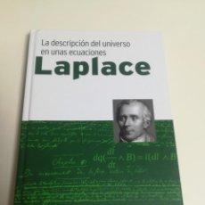Libros de segunda mano: LAPLACE. LA DESCRIPCIÓN DEL UNIVERSO EN UNAS ECUACIONES.. Lote 170133856