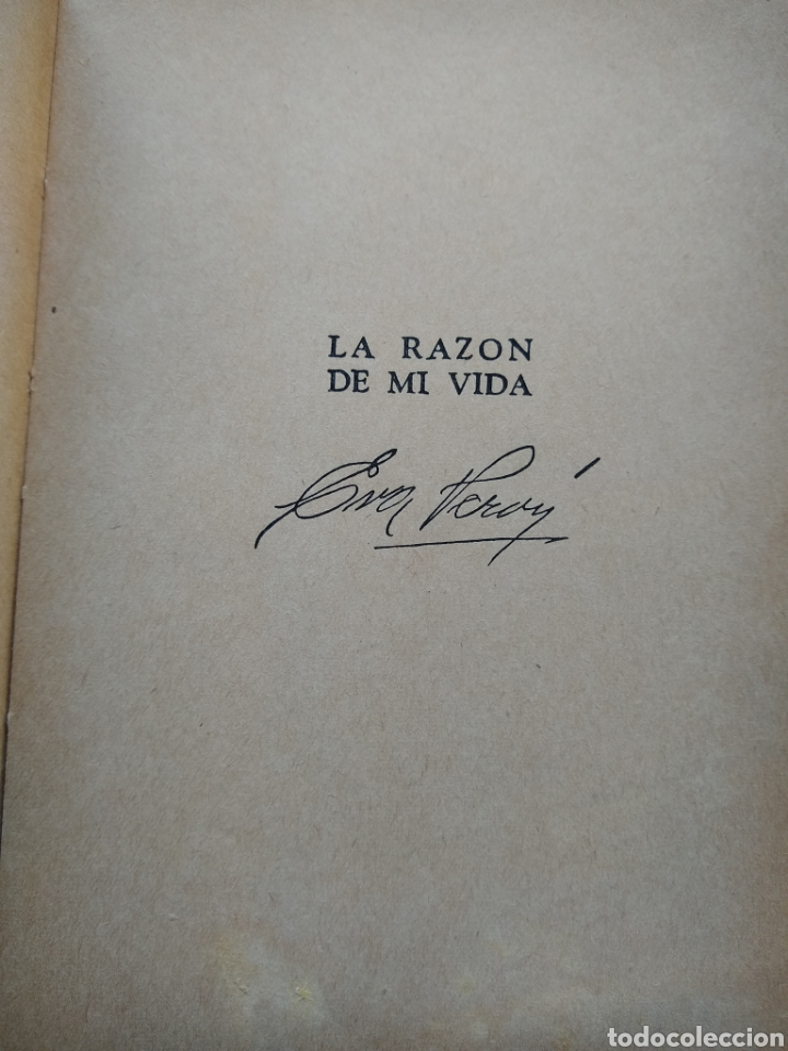 Libros de segunda mano: Eva Perón , La razón de mi vida ,libro de adoctrinamiento peronista - Foto 2 - 170289834