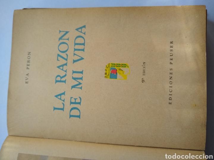 Libros de segunda mano: Eva Perón , La razón de mi vida ,libro de adoctrinamiento peronista - Foto 3 - 170289834