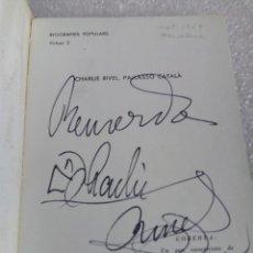 Libros de segunda mano: CHARLIE RIVEL, FIRMADO Y DEDICADO - FIRMA Y DEDICATORIA DEL PAYASO- SEBASTIÁ GASCH. Lote 170959048