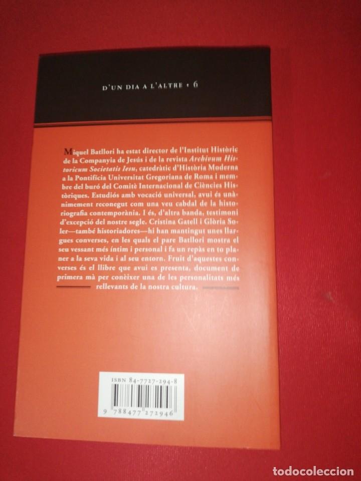 Libros de segunda mano: Miquel batllori , records de quasi un segle - Foto 2 - 254284930
